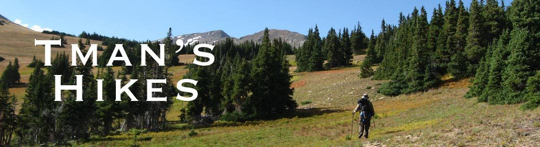 Tman's Hikes
